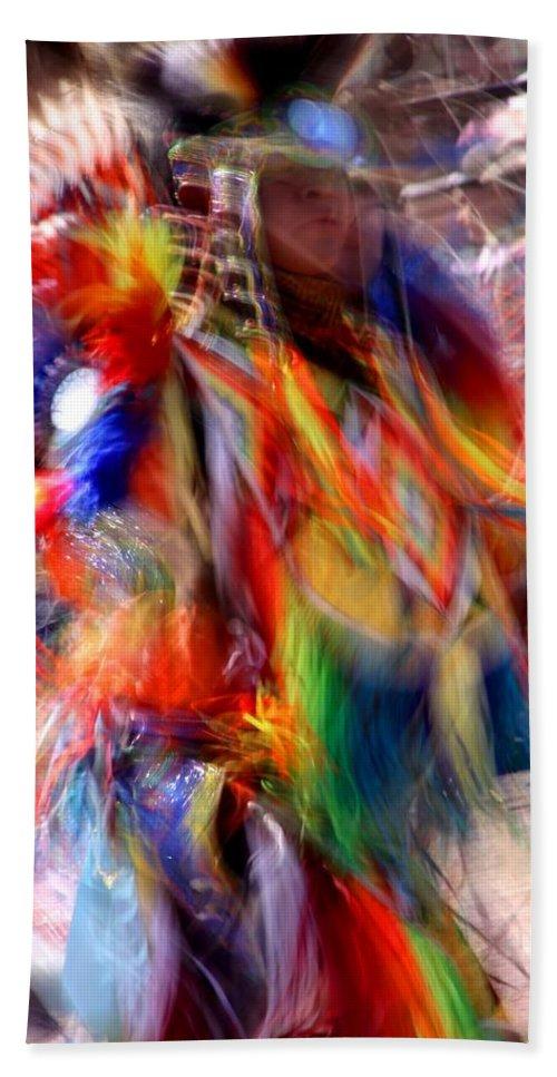 Spiritual Bath Sheet featuring the photograph Spirits 3 by Joe Kozlowski
