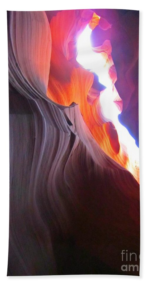 Beautiful Sandstone Formations Hand Towel featuring the photograph Spiritual Places by John Malone