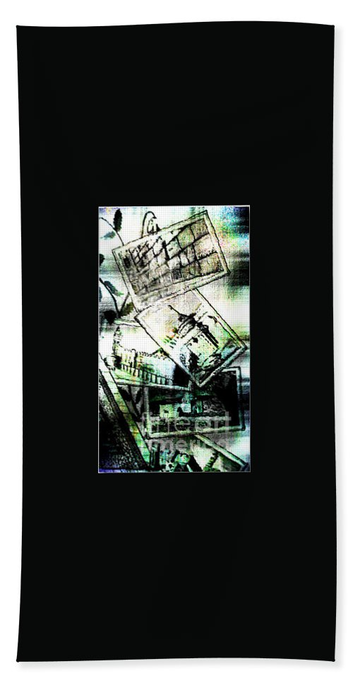 Holliland Image Hand Towel featuring the digital art Spirtuality by Yael VanGruber