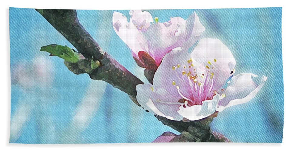 Spring Hand Towel featuring the photograph Spring Blossom by Jocelyn Friis