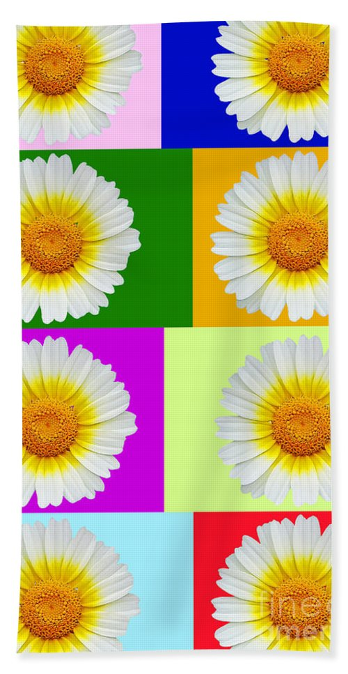 Collage Of Spring Flower Hand Towel featuring the photograph Spring Collage by Kasia Bitner