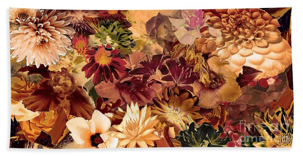 Springtime Bath Sheet featuring the digital art Springtime Melody by Paul Gentille
