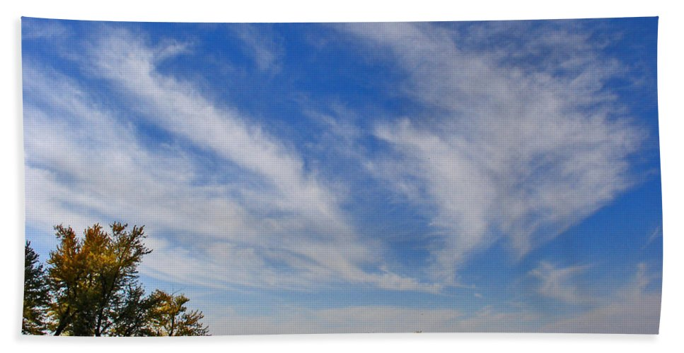 Landscape Hand Towel featuring the photograph Squaw Creek Landscape by Steve Karol