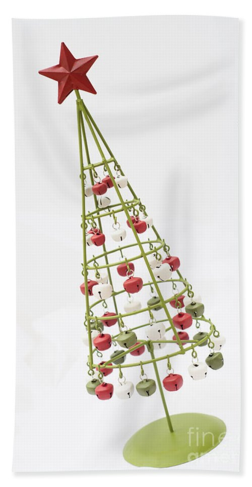 Angle Bath Sheet featuring the photograph Squiffy Tree by Anne Gilbert
