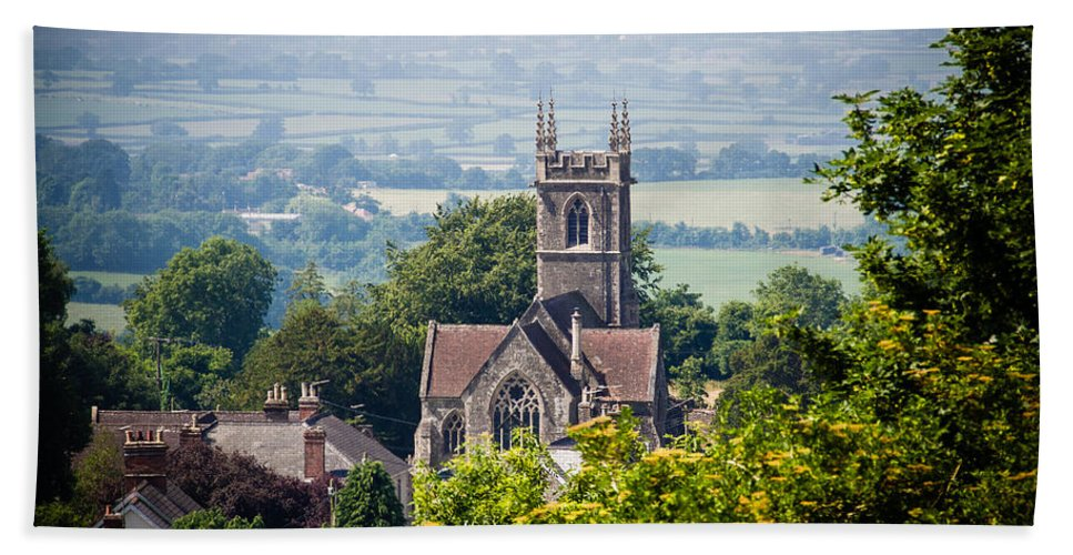 Canvas Hand Towel featuring the photograph St James Church Shaftesbury by Mark Llewellyn