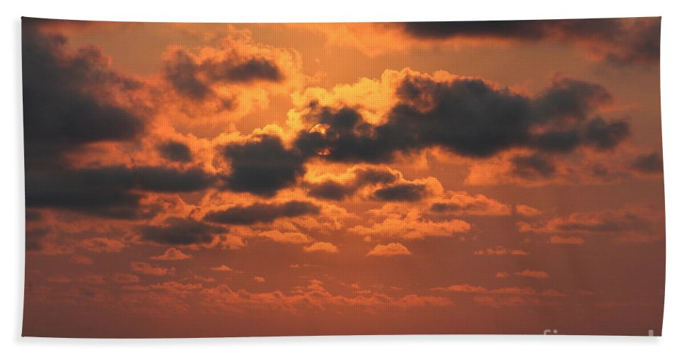 Reid Callaway Seaside Hand Towel featuring the photograph St Simons And Sea Island Sunrise by Reid Callaway