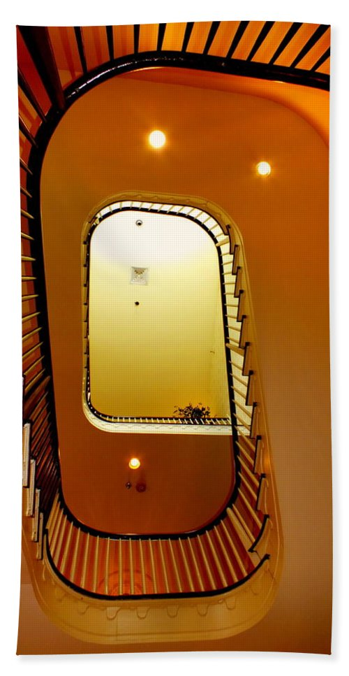 Contemporary Bath Sheet featuring the photograph Stairway To Heaven by Karen Wiles