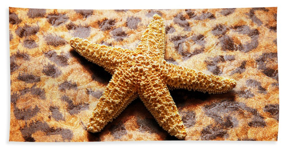 Starfish Hand Towel featuring the photograph Starfish Enterprise by Andee Design