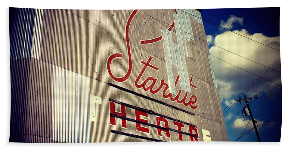 Architecture Hand Towel featuring the photograph Starlite by Trish Mistric