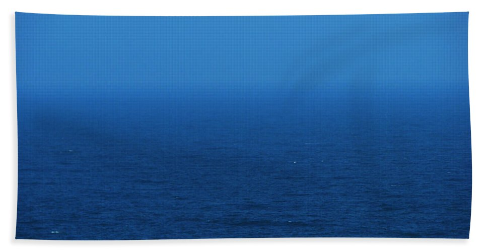 Blue Bath Sheet featuring the photograph Stepping Into A Dream by Amanda Barcon