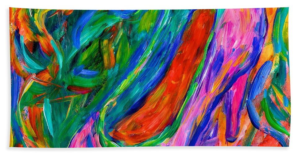 Shoe Bath Sheet featuring the painting Stepping Out by Kendall Kessler