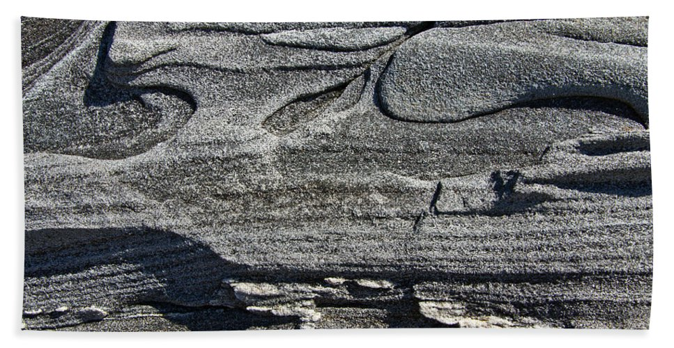 Stone Bath Sheet featuring the photograph Stone Art by Glenn Gordon
