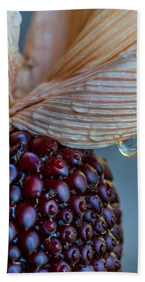 2012 Bath Sheet featuring the photograph Strawberry Corn by Randy Walton