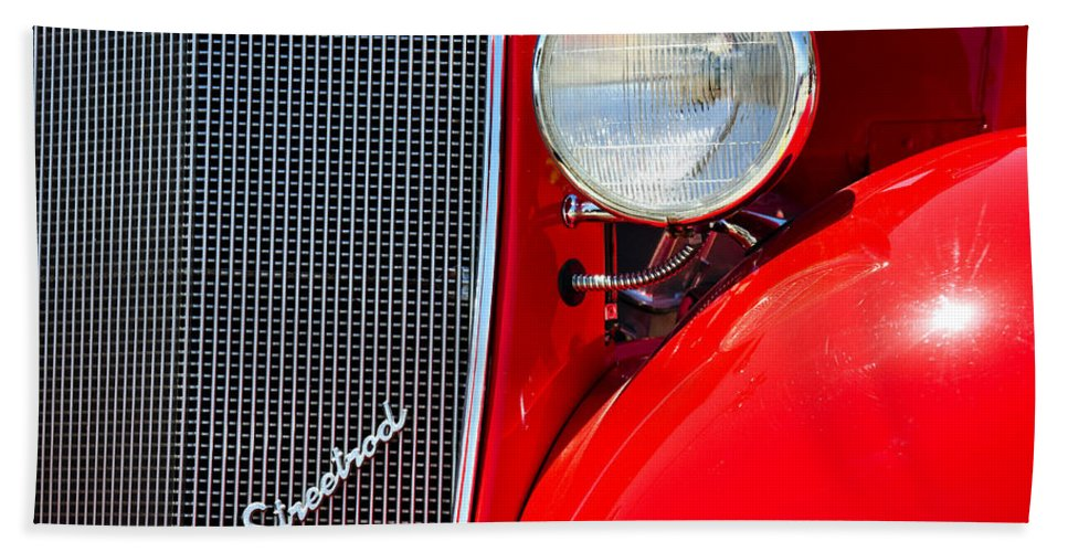 Streetrod Bath Sheet featuring the photograph Streetrod by Ricky Barnard