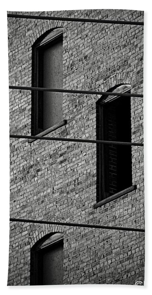 Building Bath Sheet featuring the photograph Guitar Frets And Strings by Chris Berry