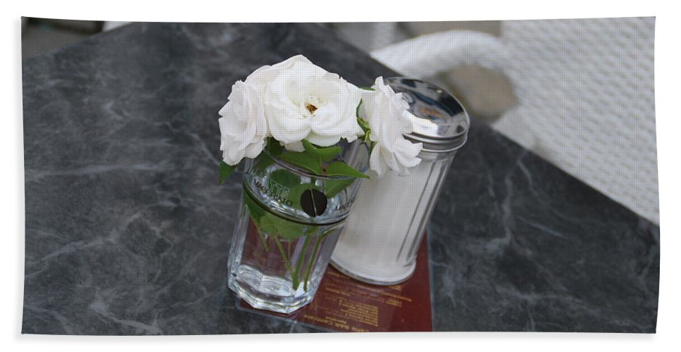 Sugar Hand Towel featuring the photograph Sugar And Flowers by Richard Booth