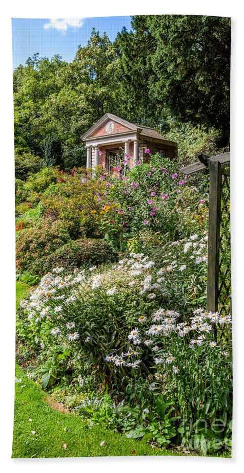 Summerhouse Hand Towel featuring the photograph Summer House by Adrian Evans