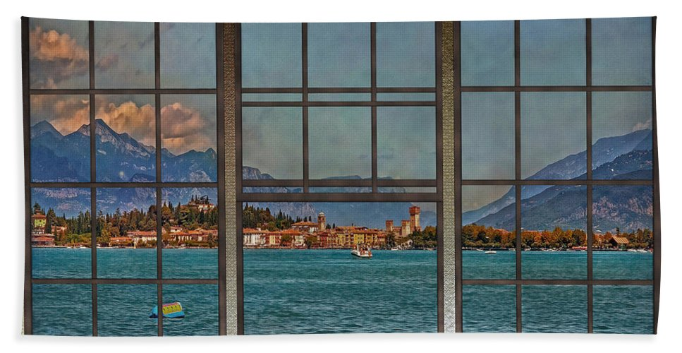 Lago Di Garda Bath Sheet featuring the photograph Summer Imagination by Hanny Heim