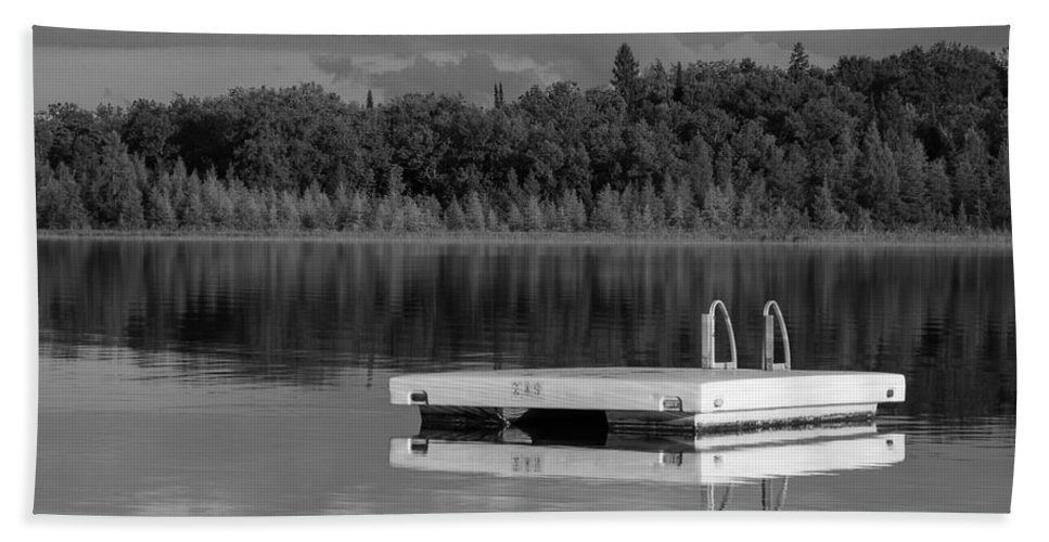 Summertime Bath Sheet featuring the photograph Summertime Reflections by Don Spenner