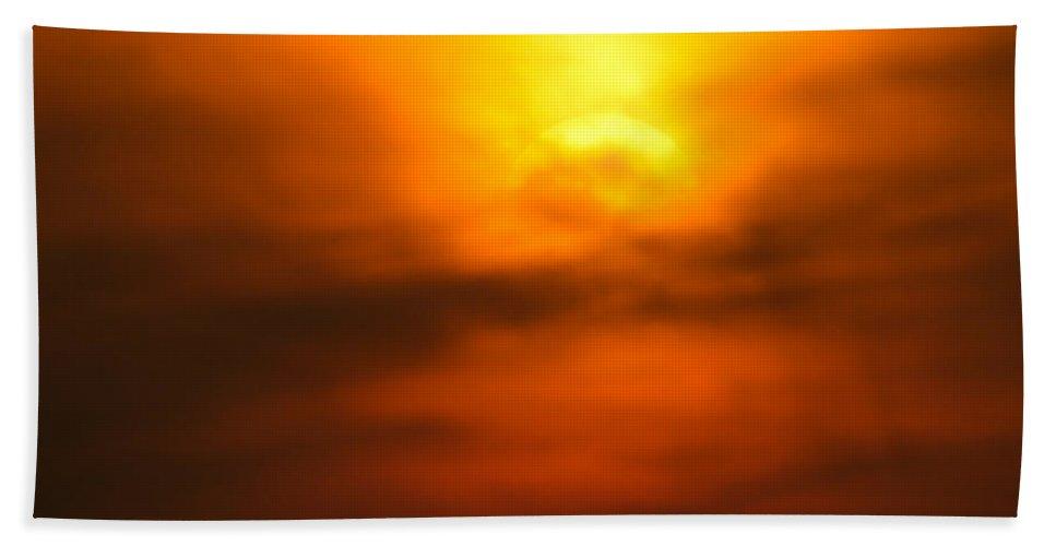 Africa Bath Sheet featuring the photograph Sun Mood by Alistair Lyne