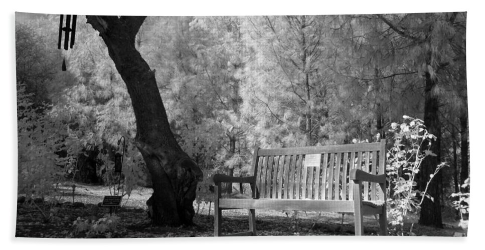 Bath Sheet featuring the photograph Sunny Seat by Jennifer Ann Henry