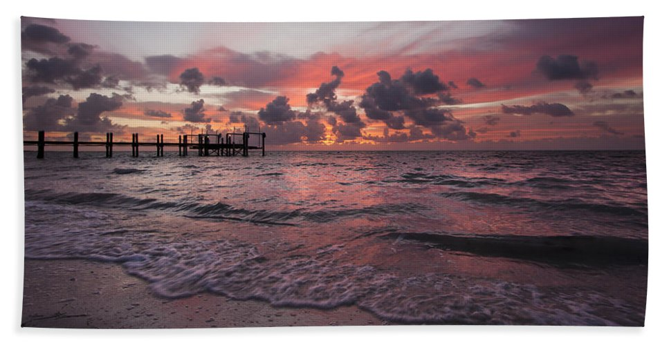 3scape Photos Bath Sheet featuring the photograph Sunrise Panoramic by Adam Romanowicz