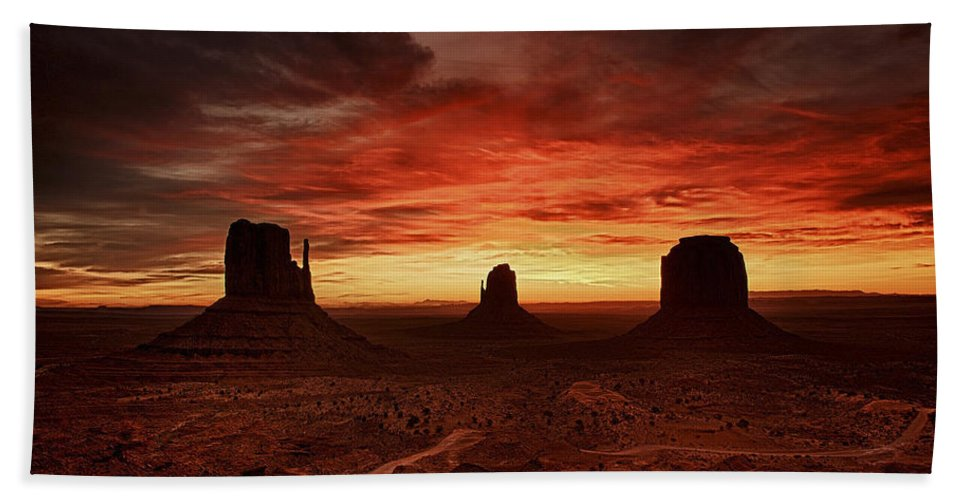 Sunset Bath Sheet featuring the photograph Sunset 11 by Ingrid Smith-Johnsen