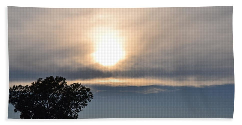 Nature Hand Towel featuring the photograph Sunset 2 by Kim Stafford