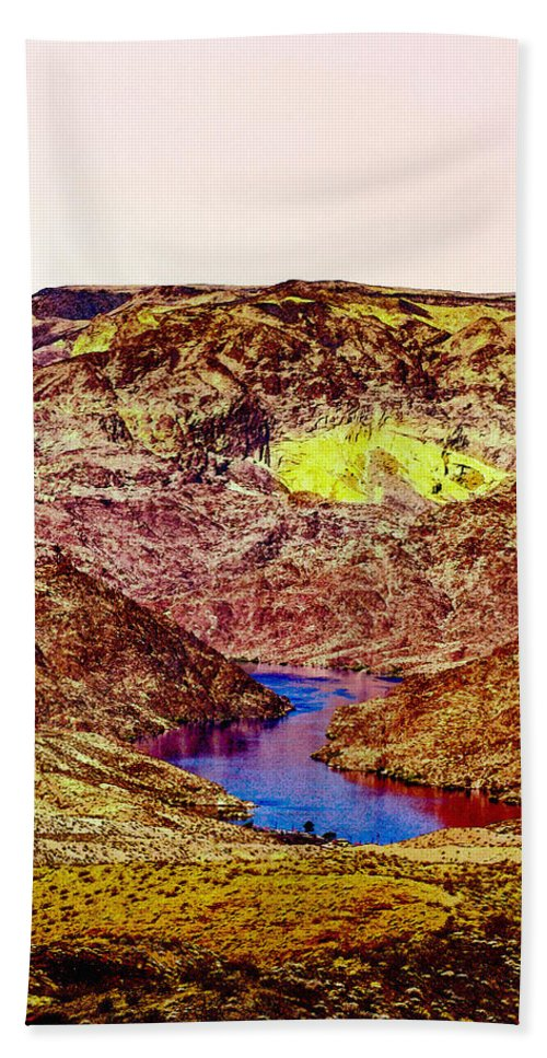 Angel Hand Towel featuring the photograph Sunset At The Grand Canyon by Bob and Nadine Johnston
