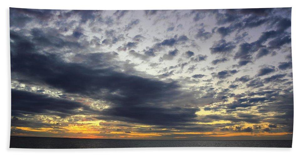 Sunset Beach Hawaii Hand Towel featuring the photograph Sunset Beach Hawaii by Richard Cheski
