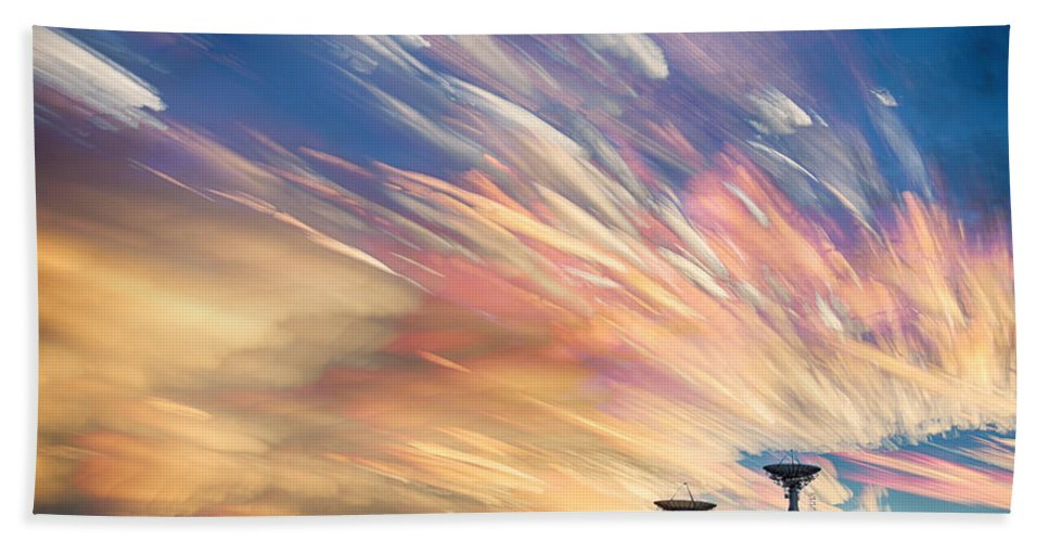 Sunsets Hand Towel featuring the photograph Sunset From Another Planet by James BO Insogna