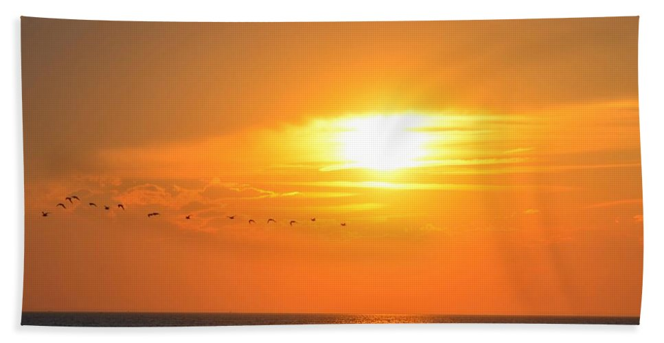 Cape Cod Hand Towel featuring the photograph Sunset Over Gray's Beach Yarmouth Cape Cod by Toby McGuire