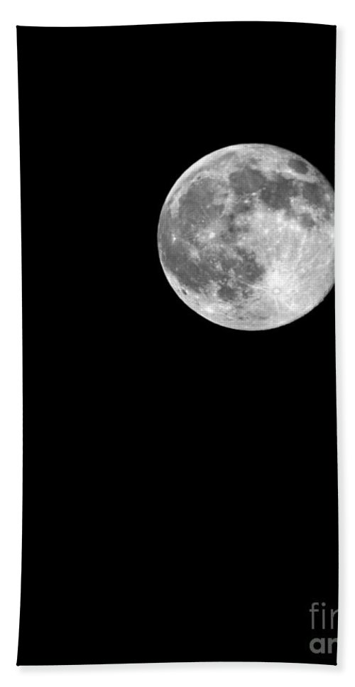 Supermoon July 12 2014 Bath Sheet featuring the photograph Supermoon July 12 2014 by Jemmy Archer