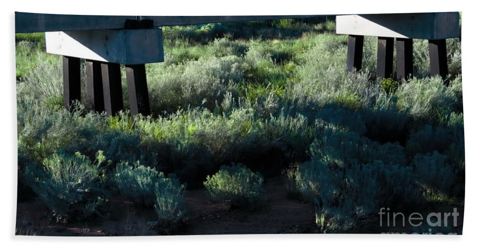Digital Color Photo Hand Towel featuring the digital art Supported by Tim Richards