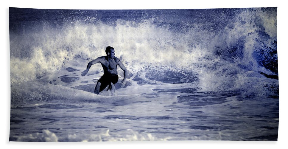 Surf Bath Sheet featuring the photograph Surf At Summer by Guido Montanes Castillo