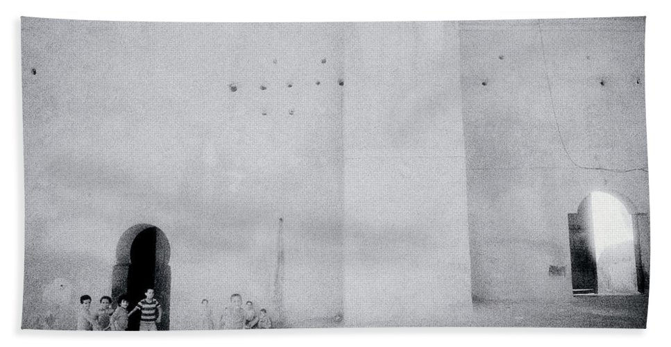 Meknes Hand Towel featuring the photograph Within The Casbah by Shaun Higson