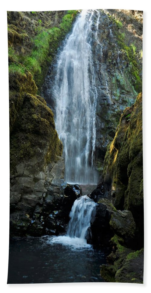 Water Bath Sheet featuring the photograph Susan Creek Falls Series 13 by Teri Schuster