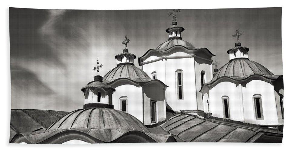 Churches Bath Sheet featuring the photograph Sv Joakim Osogovski by For Ninety One Days