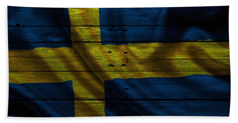 Sweden Hand Towel featuring the photograph Sweden by Joe Hamilton