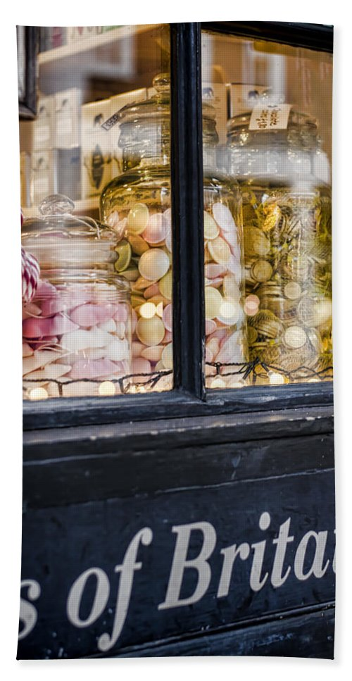 Sweet Hand Towel featuring the photograph Sweet Shop by Heather Applegate