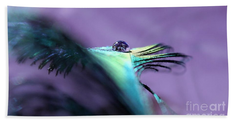 Peacock Feather Bath Sheet featuring the photograph Take Flight II by Krissy Katsimbras