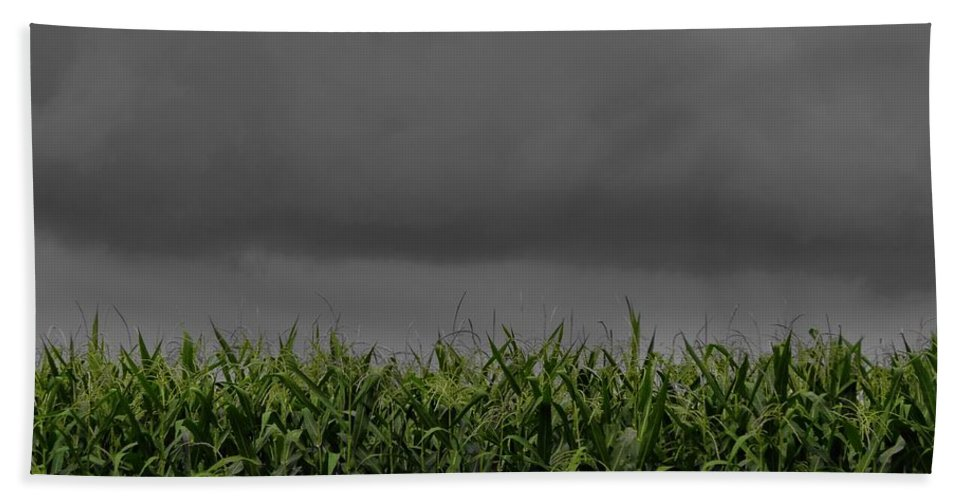 Storm Clouds Photograph Hand Towel featuring the photograph Tempest by Dan Sproul