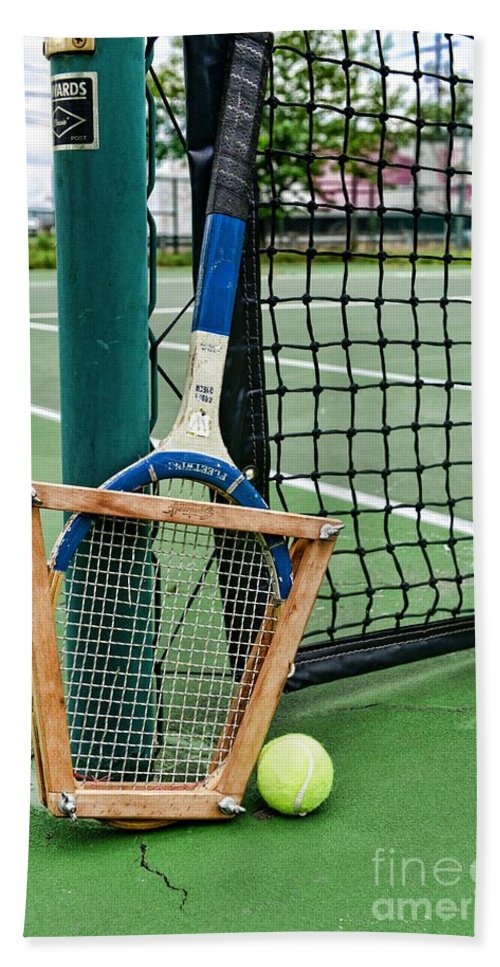 Paul Ward Hand Towel featuring the photograph Tennis - Tennis Anyone by Paul Ward