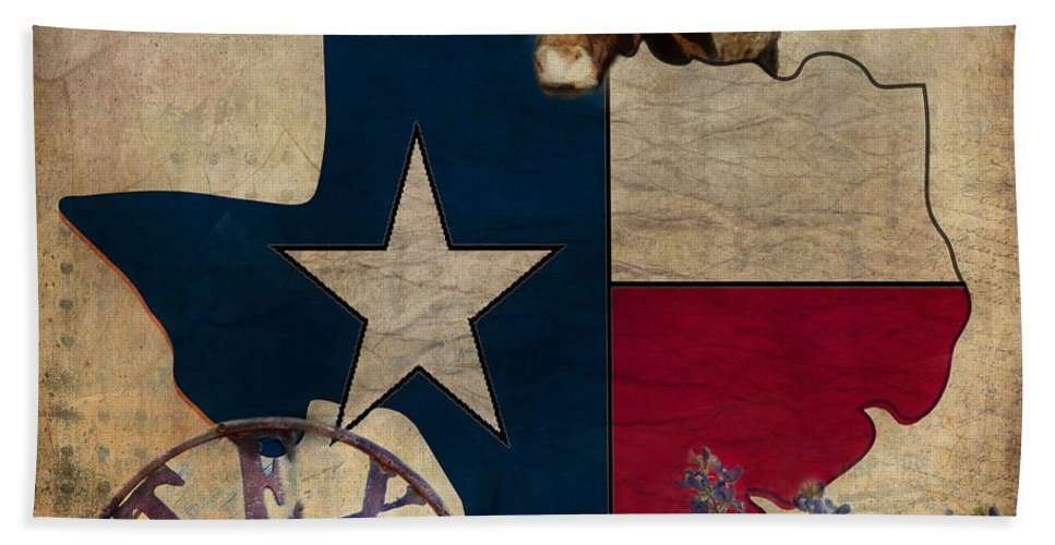 Texas Hand Towel featuring the photograph Texas by Terry Fleckney