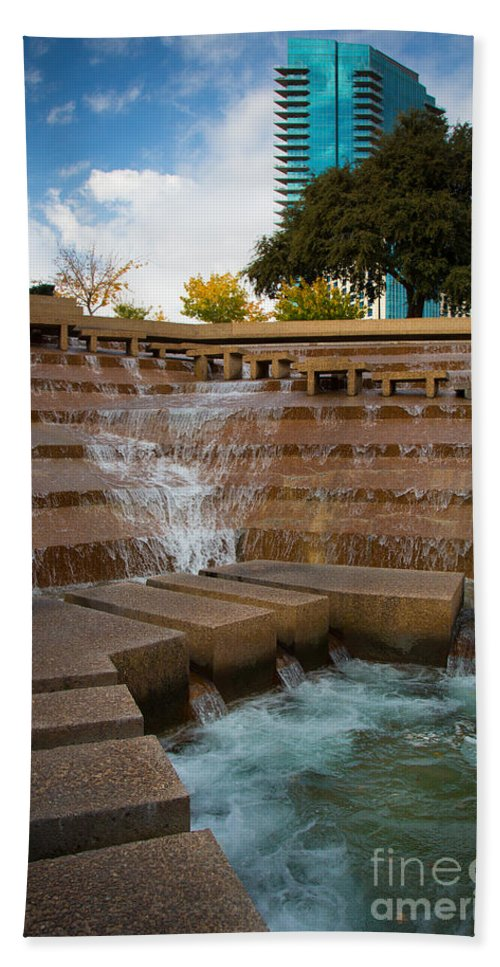 America Bath Sheet featuring the photograph Texas Water Gardens by Inge Johnsson