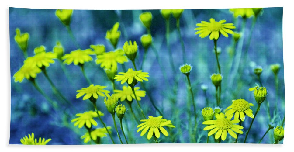 Wildflowers Hand Towel featuring the photograph Texas Wildflowers V4 by Douglas Barnard