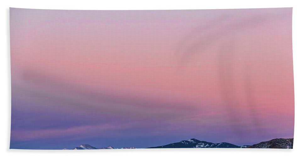 Belt Of Venus Hand Towel featuring the photograph The Belt Of Venus by Jon Burch Photography