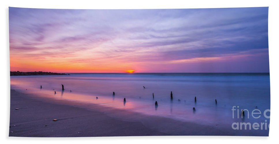 Milky Way Mike Hand Towel featuring the photograph The Breach by Michael Ver Sprill