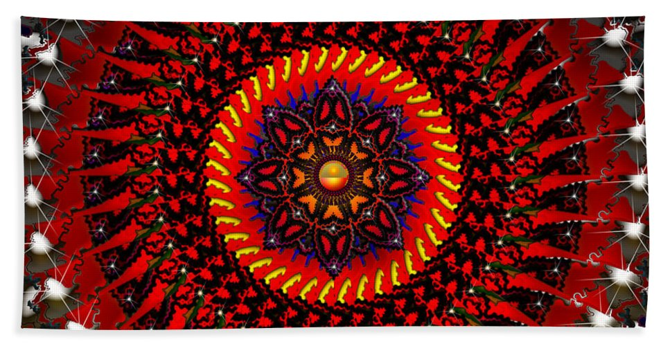 Design Hand Towel featuring the digital art The Changing Of The Tide by Robert Orinski