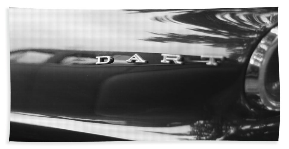 The Dodge Dart Hand Towel featuring the photograph The Dodge Dart by Dan Sproul